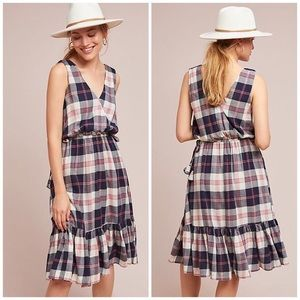 Anthropologie Plaid Dress by Isabella Sinclair